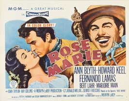 Rose Marie - 22 x 28 Movie Poster - Half Sheet Style A