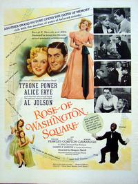 Rose of Washington Square - 11 x 17 Movie Poster - Style B