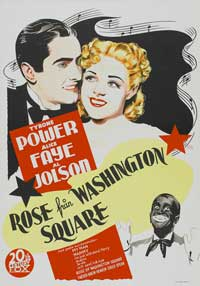 Rose of Washington Square - 27 x 40 Movie Poster - Swedish Style A