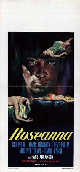 Roseanna - 13 x 28 Movie Poster - Italian Style A