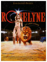Roselyne and the Lions - 11 x 17 Movie Poster - French Style A