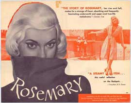 Rosemary - 22 x 28 Movie Poster - Half Sheet Style A