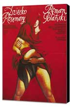 Rosemary's Baby - 27 x 40 Movie Poster - Polish Style B - Museum Wrapped Canvas