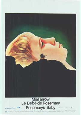 Rosemary's Baby - 14 x 22 Movie Poster - Belgian Style A
