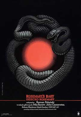 Rosemary's Baby - 11 x 17 Movie Poster - Polish Style A