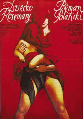 Rosemary's Baby - 11 x 17 Movie Poster - Polish Style B