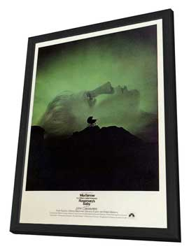 Rosemary's Baby - 11 x 17 Movie Poster - Style A - in Deluxe Wood Frame