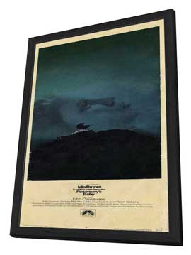 Rosemary's Baby - 14 x 36 Movie Poster - Insert Style A - in Deluxe Wood Frame