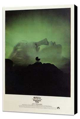 Rosemary's Baby - 11 x 17 Movie Poster - Style A - Museum Wrapped Canvas