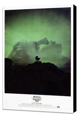 Rosemary's Baby - 27 x 40 Movie Poster - Style A - Museum Wrapped Canvas