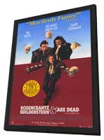 Rosencrantz and Guildenstern Are Dead - 27 x 40 Movie Poster - Style B - in Deluxe Wood Frame
