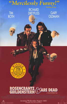 Rosencrantz and Guildenstern Are Dead - 11 x 17 Movie Poster - Style A