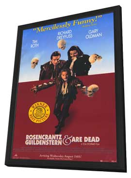 Rosencrantz and Guildenstern Are Dead - 11 x 17 Movie Poster - Style A - in Deluxe Wood Frame