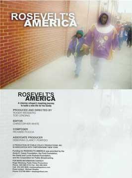 Rosevelt's America - 11 x 17 Movie Poster - Style B