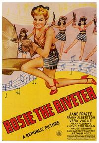 Rosie the Riveter - 43 x 62 Movie Poster - Bus Shelter Style A