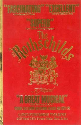 Rothschilds, The (Broadway) - 11 x 17 Poster - Style A