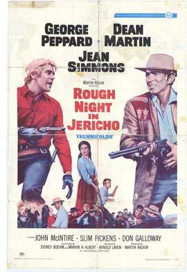 Rough Night in Jericho - 11 x 17 Movie Poster - Style A