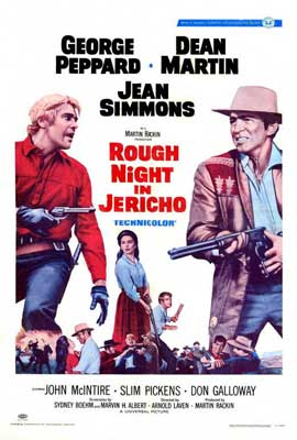 Rough Night in Jericho - 27 x 40 Movie Poster - Style A
