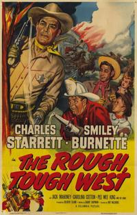 Rough Tough West - 11 x 17 Movie Poster - Style A