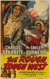 Rough Tough West - 27 x 40 Movie Poster - Style A