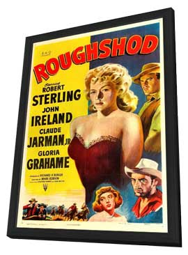 Roughshod - 11 x 17 Movie Poster - Style A - in Deluxe Wood Frame