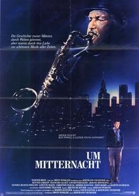 Round Midnight - 11 x 17 Movie Poster - German Style A