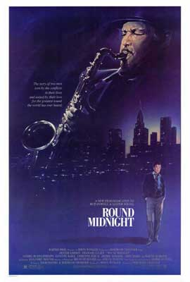 Round Midnight - 27 x 40 Movie Poster - Style A