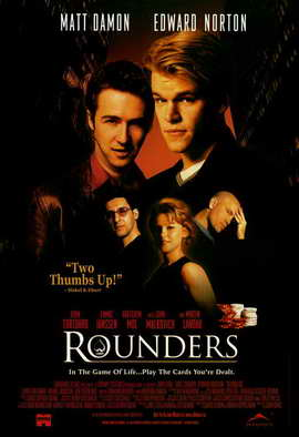 Rounders - 11 x 17 Movie Poster - Style B