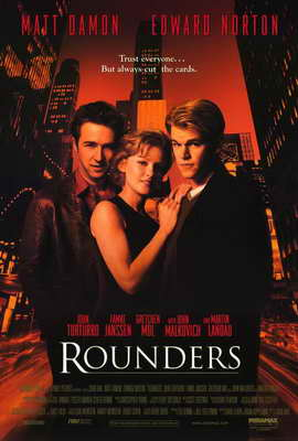 Rounders - 27 x 40 Movie Poster - Style A