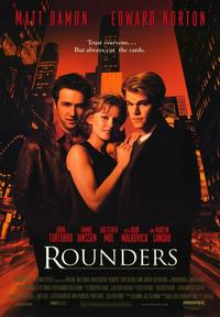 Rounders - 43 x 62 Movie Poster - Bus Shelter Style A