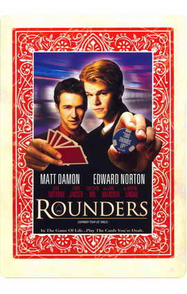 Rounders - 11 x 17 Movie Poster - Style C