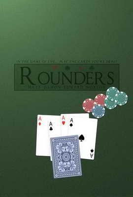 Rounders - 27 x 40 Movie Poster - Style D