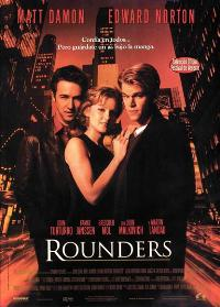 Rounders - 11 x 17 Movie Poster - Spanish Style A