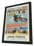 Roustabout - 14 x 36 Movie Poster - Insert Style A - in Deluxe Wood Frame