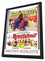 Roustabout - 11 x 17 Movie Poster - Style A - in Deluxe Wood Frame