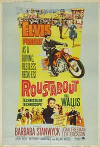 Roustabout - 43 x 62 Movie Poster - Bus Shelter Style B