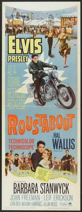 Roustabout - 14 x 36 Movie Poster - Insert Style A