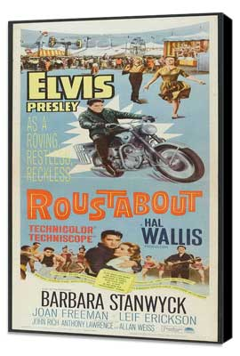 Roustabout - 14 x 36 Movie Poster - Insert Style A - Museum Wrapped Canvas