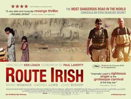 Route Irish - 11 x 17 Movie Poster - UK Style A