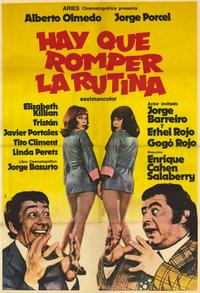 Routine Has to Be Broken - 11 x 17 Movie Poster - Spanish Style A