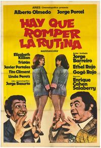 Routine Has to Be Broken - 27 x 40 Movie Poster - Spanish Style A