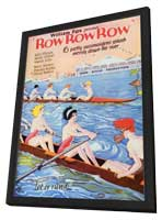 Row Row Row - 11 x 17 Movie Poster - Style A - in Deluxe Wood Frame
