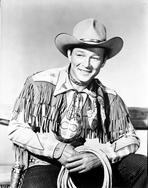 Roy Rogers Collection - Roy Rogers Holding a Rope
