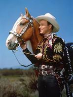Roy Rogers Collection - Roy Rogers with a Brown Horse