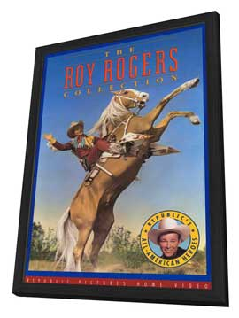 Roy Rogers Collection - 11 x 17 Movie Poster - Style A - in Deluxe Wood Frame