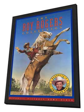 Roy Rogers Collection - 27 x 40 Movie Poster - Style A - in Deluxe Wood Frame