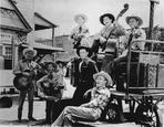 Roy Rogers Collection - Roy Rogers with Group of Men in Cowboy Outfit