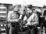 Roy Rogers Collection - Roy Rogers Talking to A Man in Cowboy Outfit