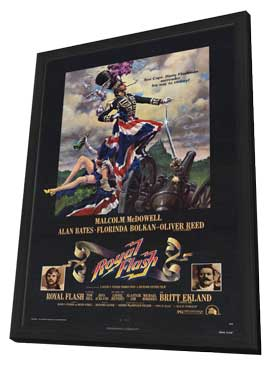 Royal Flash - 27 x 40 Movie Poster - Style B - in Deluxe Wood Frame