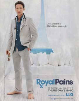 Royal Pains (TV) - 11 x 14 TV Poster - Style A